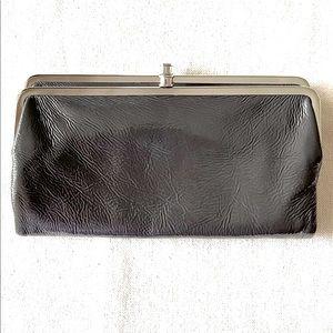 Hobo Lauren Graphite Clutch-Wallet